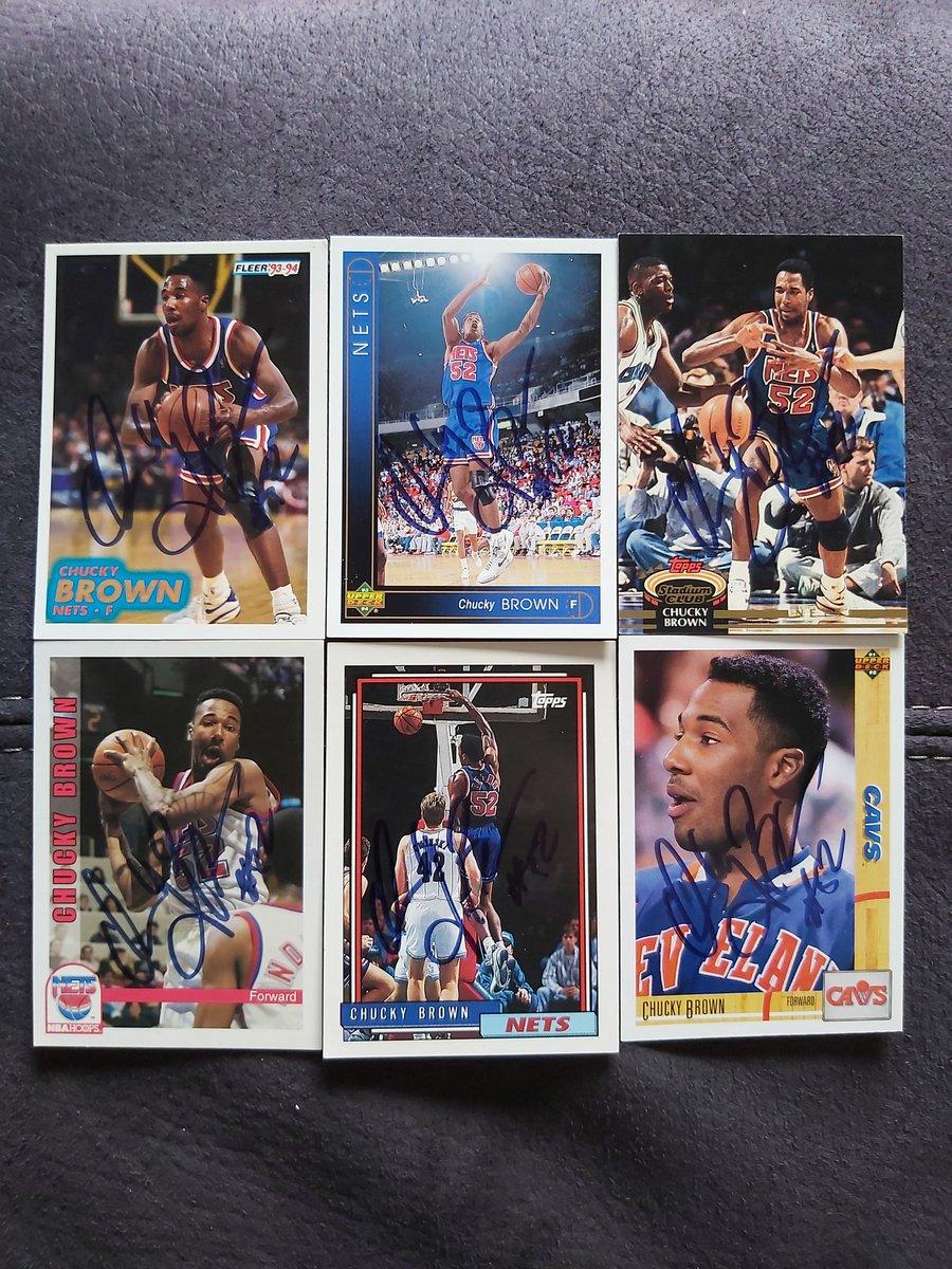 Mailday Mr Chucky Brown #NBA  #clevelandcavs #newjerseynets #TTM #card #collection #basketball https://t.co/xts2H1SX4b