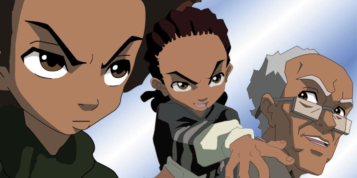 "ICYMI: #AdultSwim has permanently retired episodes from both #TheBoondocks & #AquaTeenHungerForce due to to ""cultural sensitivities."" (Source: Variety. https://t.co/UfXrHPmWkg.) https://t.co/MlCHVchmZO"