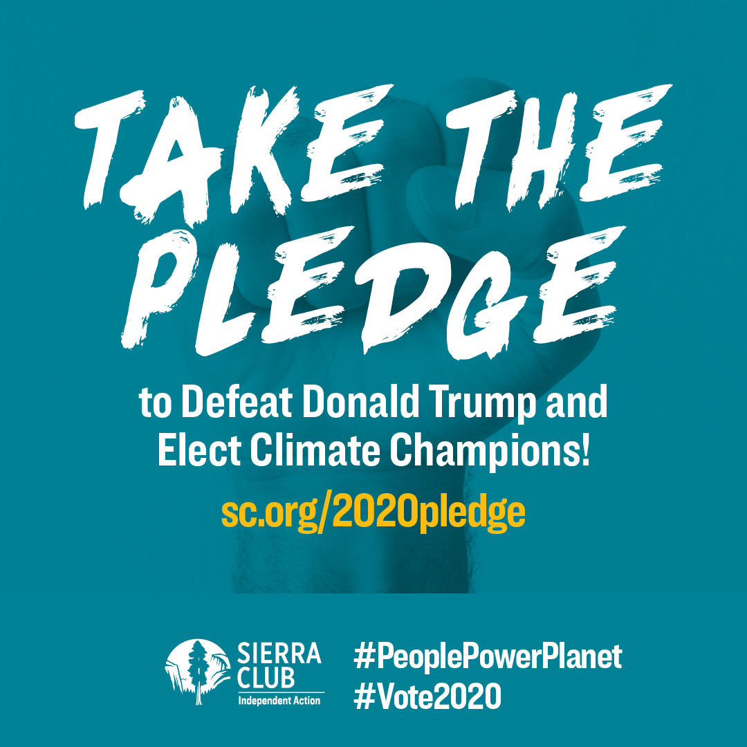 2020 Mission: do everything it takes to defeat Donald Trump and build a new era of climate leadership. The time for voters to fight for our democracy and planet is NOW. You in? Take the pledge now to join us:  #PeoplePlanetPower #Vote2020 #ClimateAction