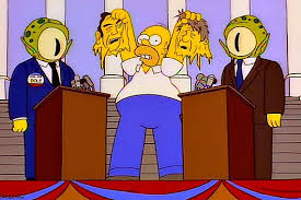 What do you know, @TheSimpsons made another correct prediction... #TheSimpsons #Debates #Debates2020 #PresidentialDebates2020 #PresidentialDebate https://t.co/8k2W26DAmV