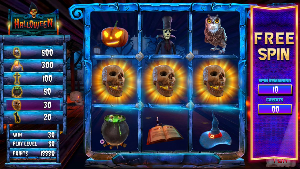 Experience the thrill & magic with our sensational #Halloween theme Skill Game in PA. It comes with rewarding features. Visit https://t.co/8a2kmEWyyp  #SkillGame #PASkillGames #SkillGamesPA #PennsylvaniaSkillGames #SkillGamesPennsylvania #SkillGamesVA #SkillGamesVirginia https://t.co/rjtwJSqtzn