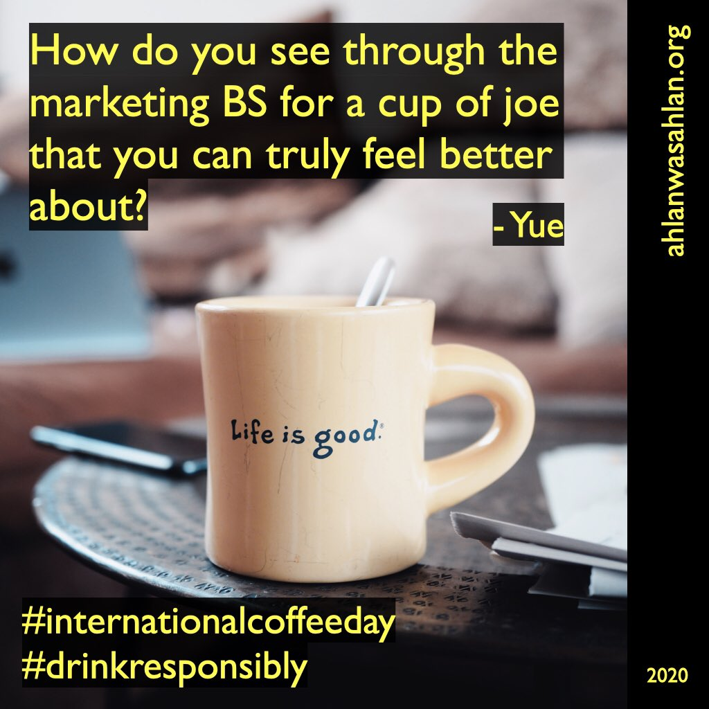 Transparency is the character you want to look for.   https://t.co/KSxBwskBVm  #InternationalCoffeeDay #climateaction #Sustainability #youth4climate #environment #coffee #coffeeday https://t.co/5kJVryQi97