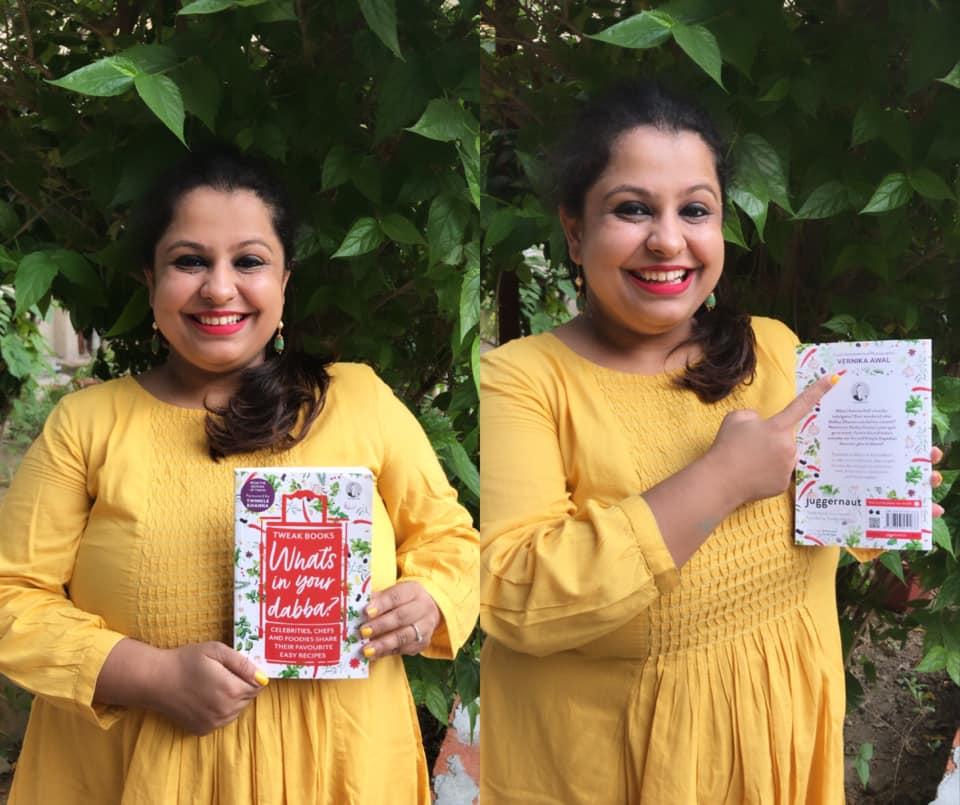"And the big day is here! ""What's In Your Dabba"" in stores and in online stores now!   Firsts are always special, innit? My first project as a food consultant and photographer. :)   Thank you @mrsfunnybones, @Chikisarkar & @TweakIndia   Order your copies now!"
