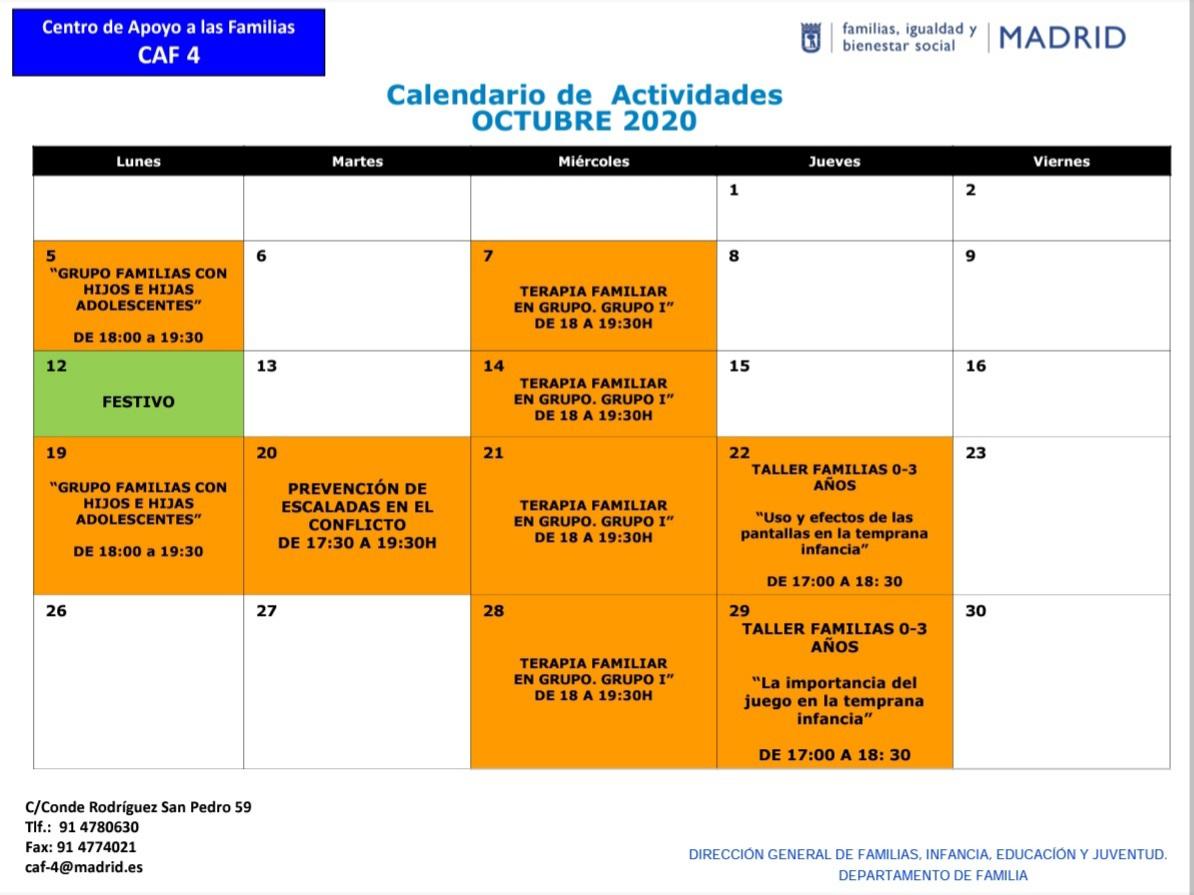 test Twitter Media - 📢 ‼Corregimos la programación de actividades en el Centro de Apoyo a las Familias 4 #CAF4 ‼ Para ver la modificación, consultar el cuadro que os ponemos aquí 👇  @MADRID @Lineamadrid @MadridIgualdad @MadridJuventud @abd_ong @RedesAprome @JMDretiro @JMDpvallecas @JMDvivallecas https://t.co/jeUpTPmeEi