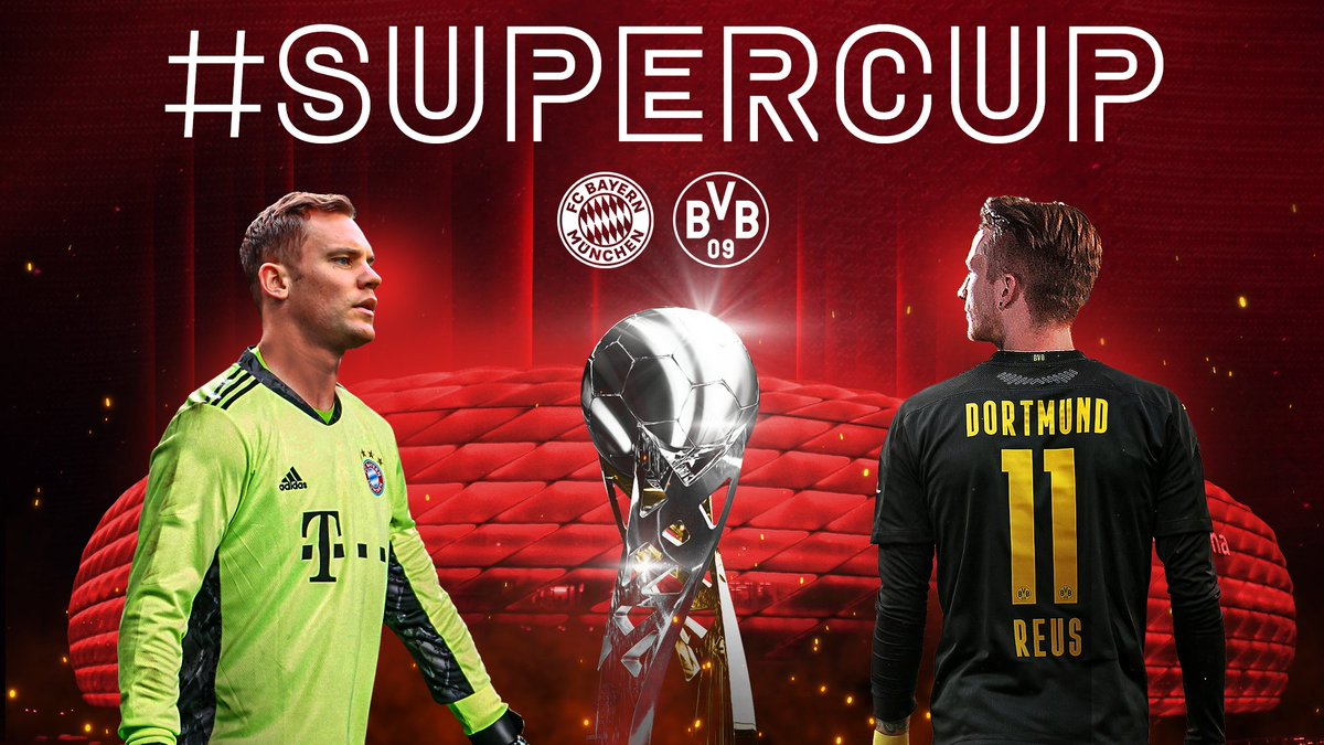 ⭐🏆 #SUPERCUP ⭐🏆  #Packmas zum 5. Titel in diesem Jahr! 💪🔥  #FCBBVB #Mission5 https://t.co/E1DYsJDDcU