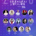Image for the Tweet beginning: KOL Summit Shanghai Speaker Line-up!