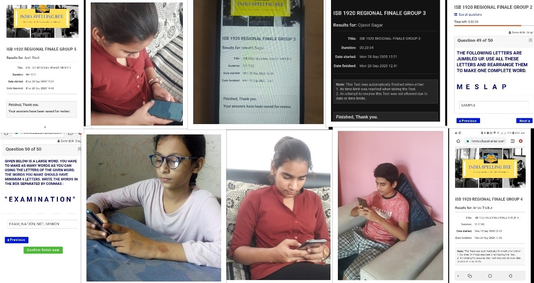 ISB 19-20 Regional Level finale is held online with school winners from more than 20 states of India competing. All the best to all #indiaspellingbee #spellbee #contest #schools #india #onlinecontest #education https://t.co/M5gujb6EF1