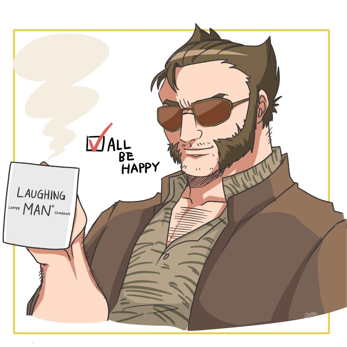 Someday...☕️ #laughingmancoffee #Wolverine