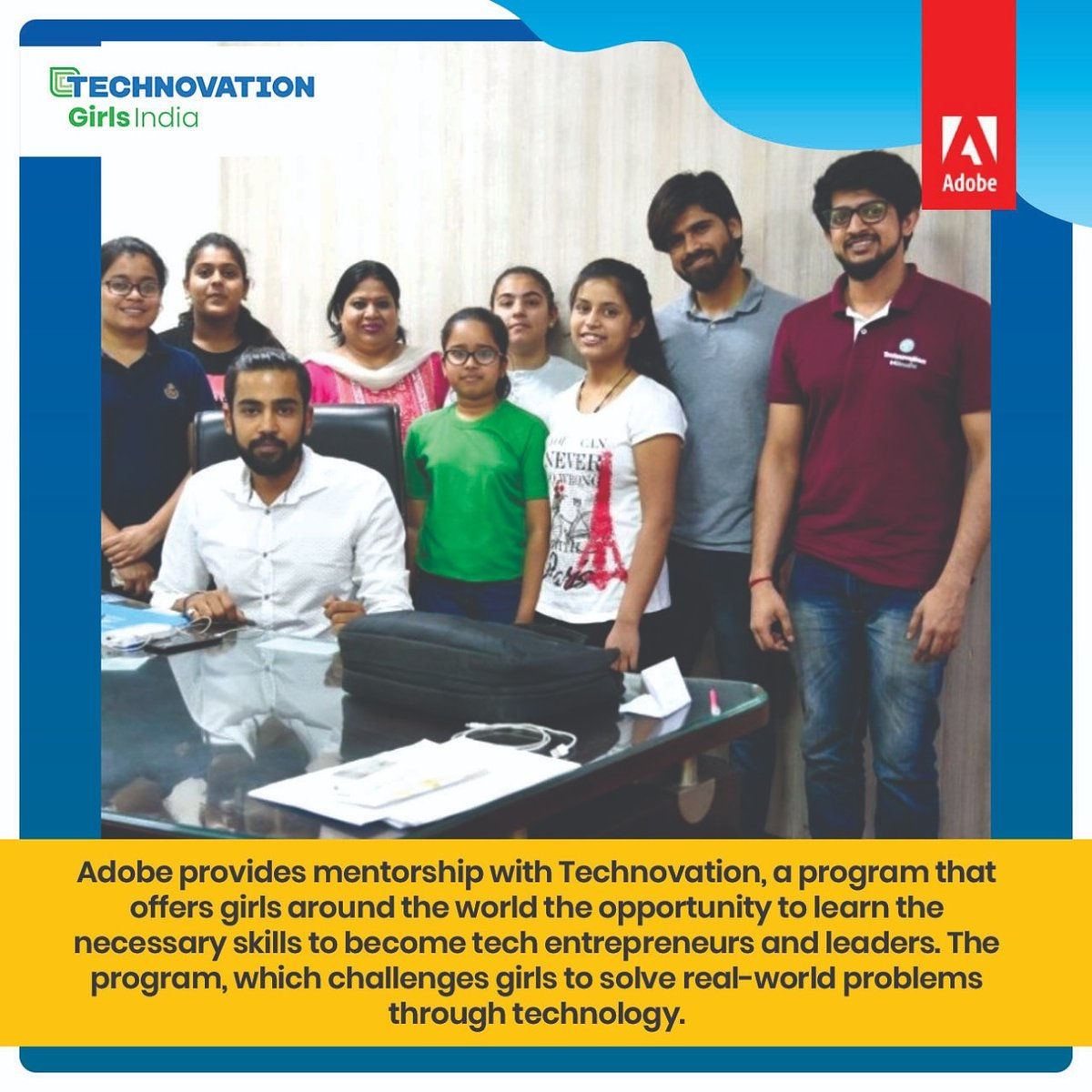 Technovation Girls #Technovation #TechnovationIndia #Technovation2020 #Coding #CodingLife #Adobe #AdobeLife #Learning #education #technology #GirlPower #womenempowerment https://t.co/56gYHHz9sb
