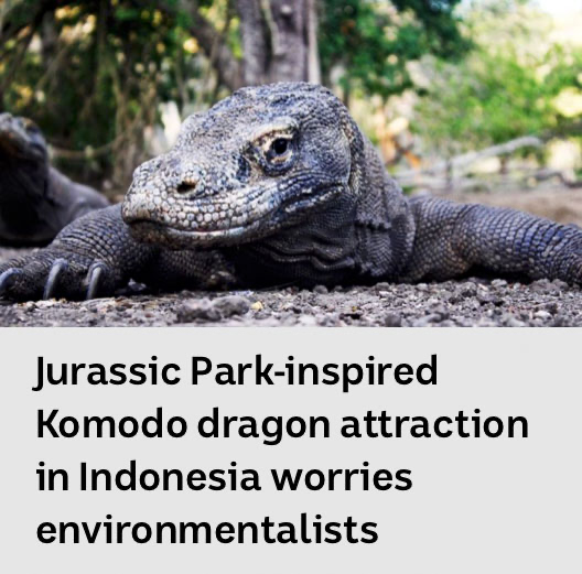 This should worry EVERYBODY. Have we learnt nothing from 5 Jurassic Park films??