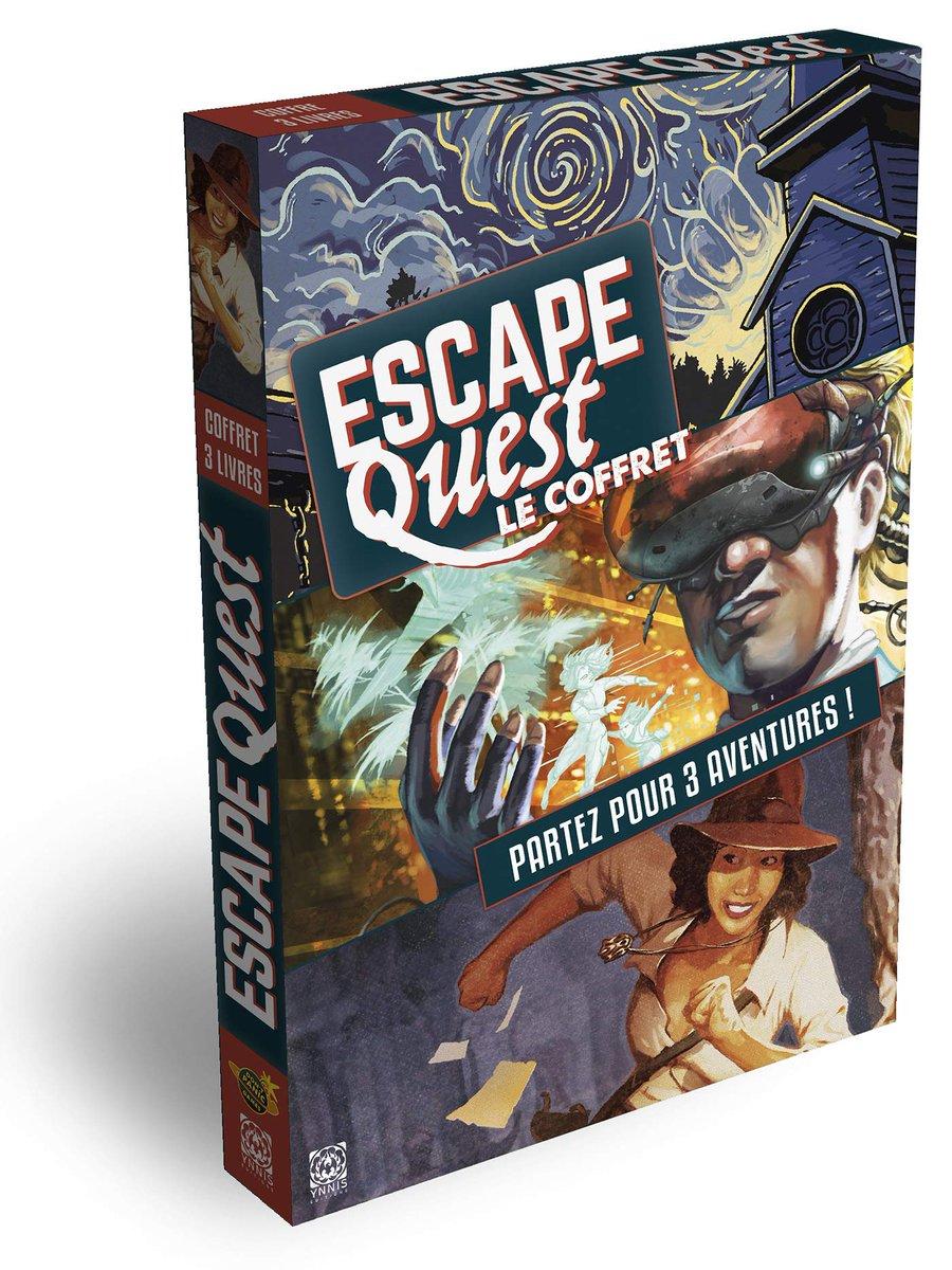 Le coffret Escape Quest des trois premiers mag à un look très sympa ! ;-) #j2s #escape https://t.co/GJbtDuLUzl