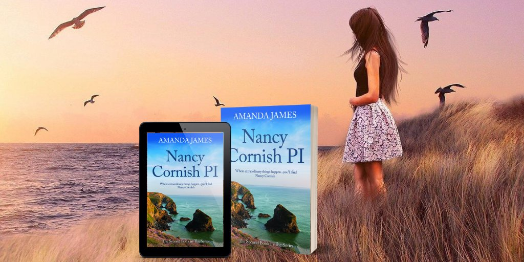 #ESCAPE to #Cornwall  for something a bit different...Miss Marple meets The Sixth Sense!  ⭐️⭐️⭐️⭐️⭐️A compelling and unique series.   https://t.co/Qw2wgDbDON  https://t.co/WXNUgNGB0R  #BookClub #WednesdayThoughts   #mystery #uplit #amreading https://t.co/eS8NFpIOes