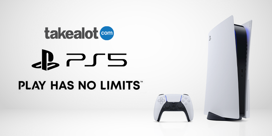 Ready to level up?   Stand to WIN a brand new #PlayStation5 by tagging your Player 2! Follow these easy steps to enter!   1 RT this post  2 Tag the person you'd love to game with!  3 Follow @Takealot  4 Make sure you comment using #TakealotPS5 https://t.co/hXxU5QlYrR
