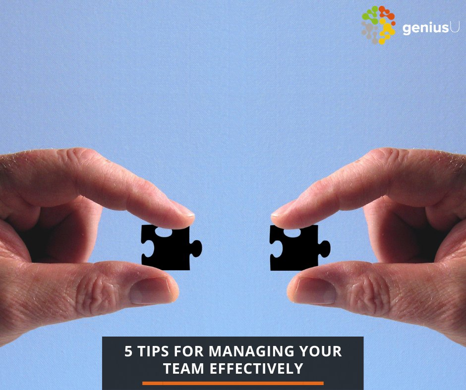 5 Tips for Managing Your Team Effectively  - Communication  - Feedback  - Encourage collaboration  - Set clear goals  - Appreciate and reward your employees  #goals #team #motivation #communication #leaders #skills #employees #teammanagement  Read More: https://t.co/3SXxQ7w8dt https://t.co/W3oV9D8g4A