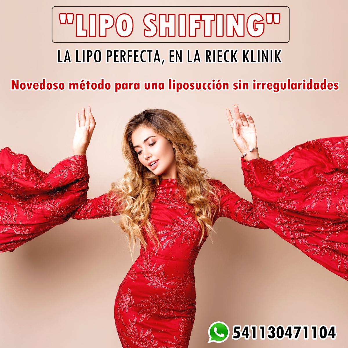 """LIPO SHIFTING, LA """"LIPO"""" PERFECTA Disponible en RIECK KLINIK. Novedoso método para una liposucción SIN IRREGULARIDADES y para corregir defectos dejados por las cánulas de liposucción.  Dirige la Dra. Ana Rieck MN88962 MP332114 Consultas x whtspp 541130471104 #Lipoescultura #Lipo https://t.co/7ckj9ZAM1Z"""