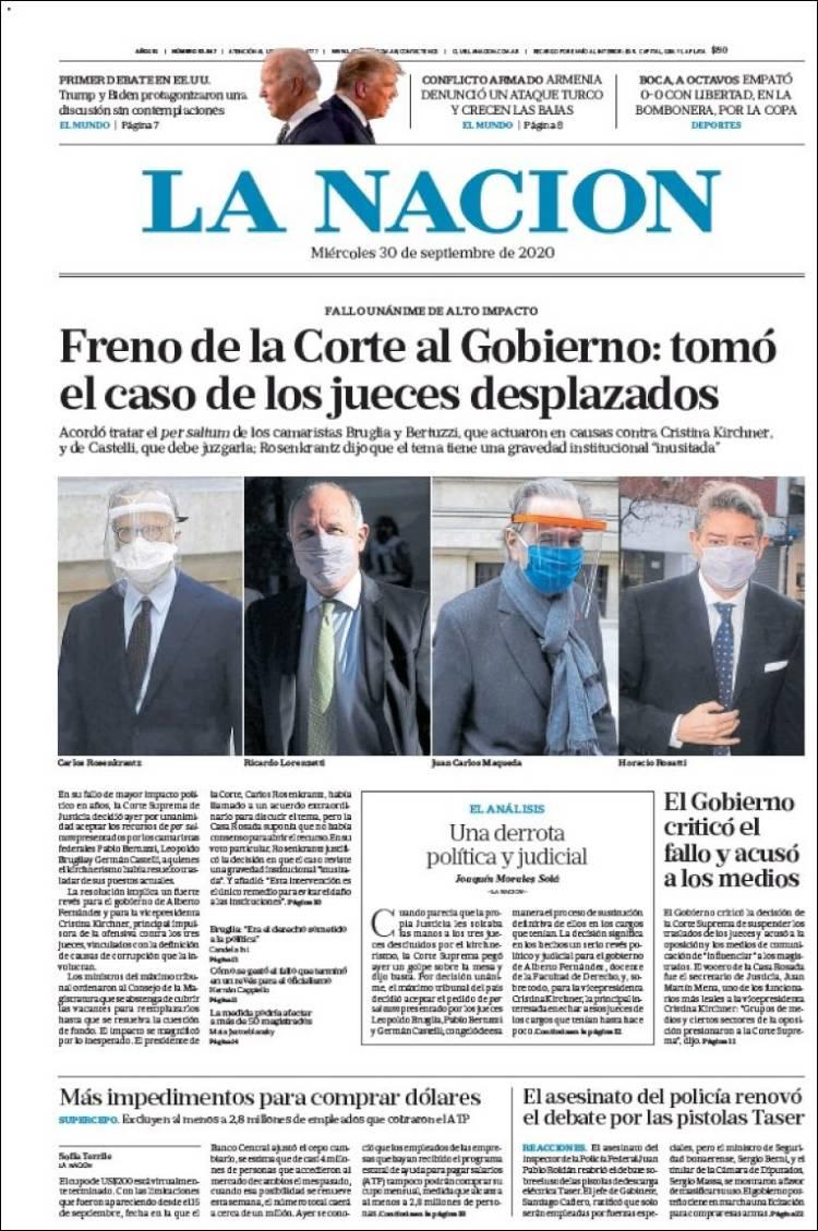 LA NACION  https://t.co/8eIpRiBQXr #r2p #LaNacion #Argentina #FMI #BuenosAires #Aerolineas #Covid19 #Coronavirus #US #Trump #Biden #Telefonica #AlbertoFernández #YPFB #Football #Kirchner #CarolinaPiparo #Futbol #Beirut #Lebanon #Beyrouth #Neymar #Messi #USOpen #Djokovic https://t.co/ng1ULGRwZx