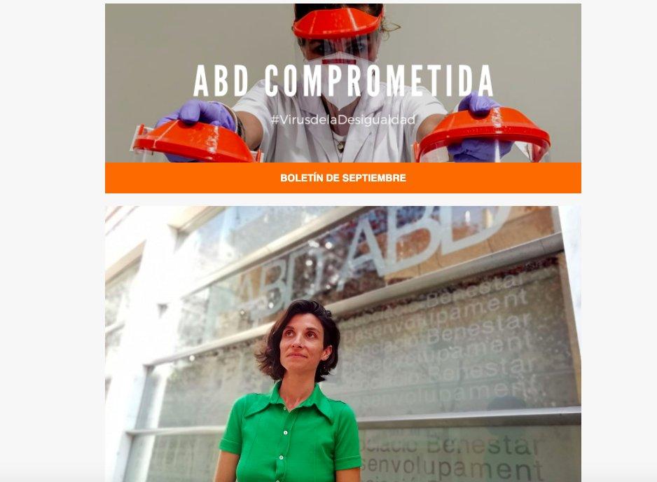 test Twitter Media - El nombramiento de Aldana Menéndez como coordinadora de la comisión de VIH/Sida y exclusión social de @ecasacciosocial y la nueva web de @EC_es , temas destacados del #BoletínABD del mes de septiembre.  https://t.co/Fk9BdjVWkI https://t.co/0TgErYCMwd