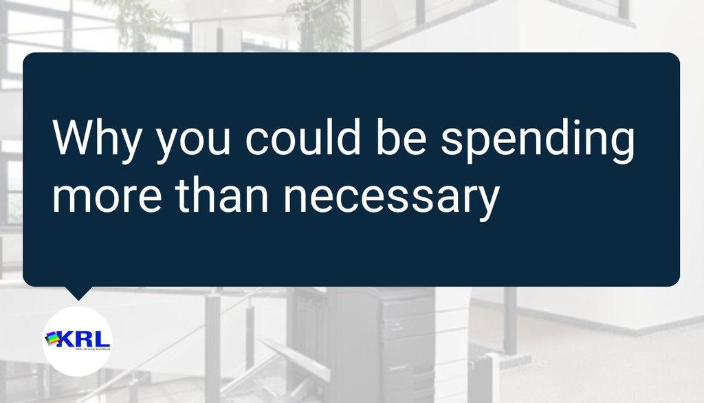 It's vital that we don't underestimate how valuable a commodity time is.  Read the full article: Could printing costs be harming your profits? ▸ https://t.co/r0XzZRqABM  #Business #Copiers #Managedprint #Officeprint https://t.co/0iPw1261xj