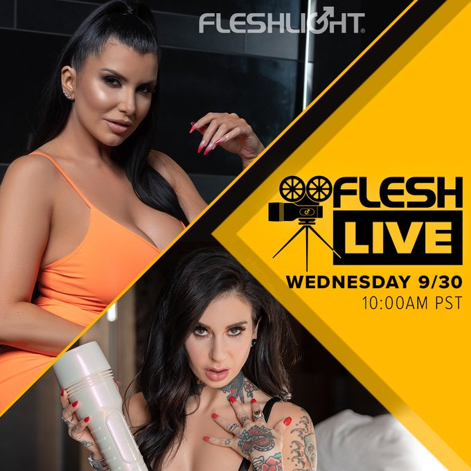 You've been waiting for this one! Tune in to this week's FleshLive and hang out with our brilliantly