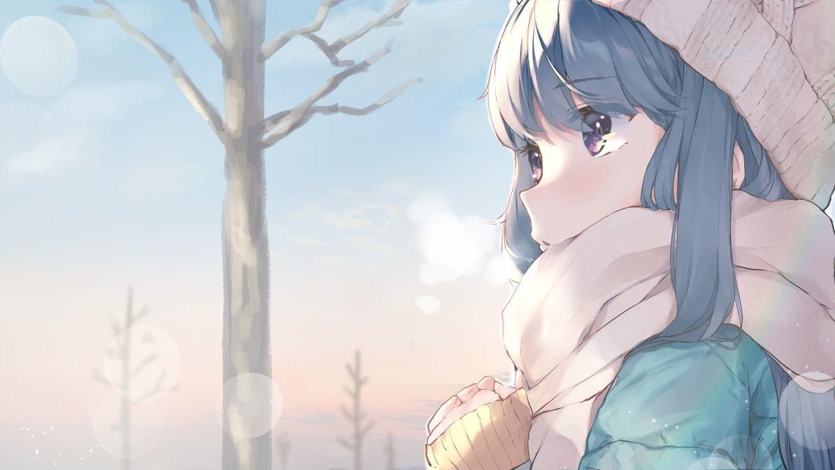 「朝日が昇る 私は旅する」  shima rin 🏕️  #志摩リン生誕祭2020 #ゆるキャンΔ