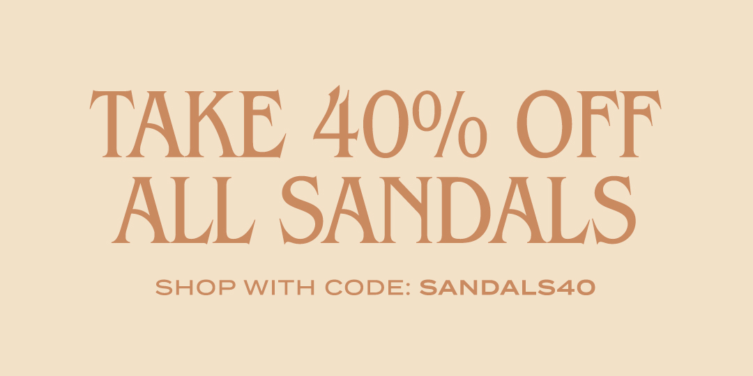 🌟SALE ALERT🌟 Slip into this season's most stylish sandals with an extra 40% off 100s of styles 🙌 Use code SANDALS40 at checkout to save on all sandals #lovelulus (US & Canada only. Full terms on site.) Get shopping: https://t.co/rvcYuETovW https://t.co/9MvLKnYIIG