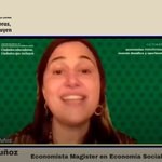 "Image for the Tweet beginning: 📢Comenzó el Panel ""Economías transformadoras:"