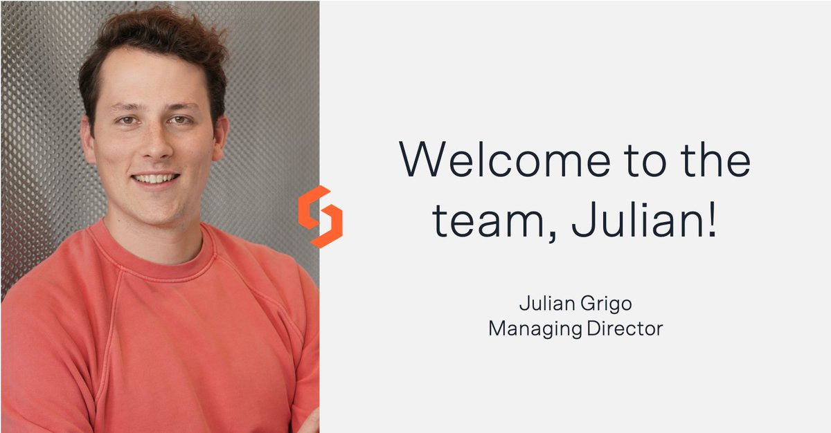 We'd like to give a warm welcome to @JulianGrigo, who will be leading our Solaris Digital Assets team alongside @AlexisHamel1. We look forward to driving #digitalasset adoption across Europe together with you! https://t.co/5pUixYt3vC