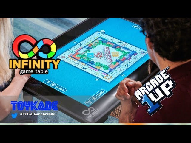 Arcade1UP - Infinity Game Table Revealed! Boardgames, Kickstarter and a risky product? https://t.co/NpniCV9Wyj.                         #Arcade1UP #tabletop #tabletopgaming #Hasbro #RetroHomeArcade #Toykade https://t.co/NGRdICnZm2
