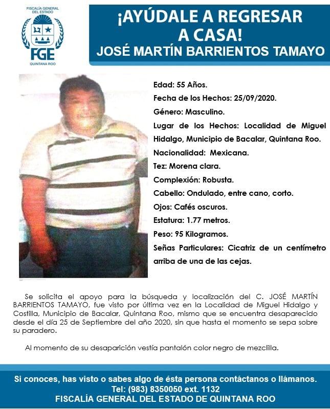 """#Entérate """"Levantón"""" en comunidad de Bacalar  Un hombre fue privado de su libertad el viernes pasado en la comunidad Miguel Hidalgo, #Bacalar. ➡️ https://t.co/qcAJefcWfI https://t.co/2n1UmM1f9p"""