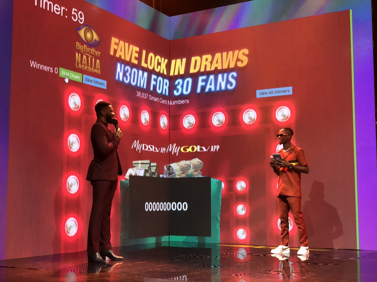 Are you about to be a millionaire? We find out!  #BBNaija  https://t.co/ABkzJEuZit https://t.co/i21QOrI2V2
