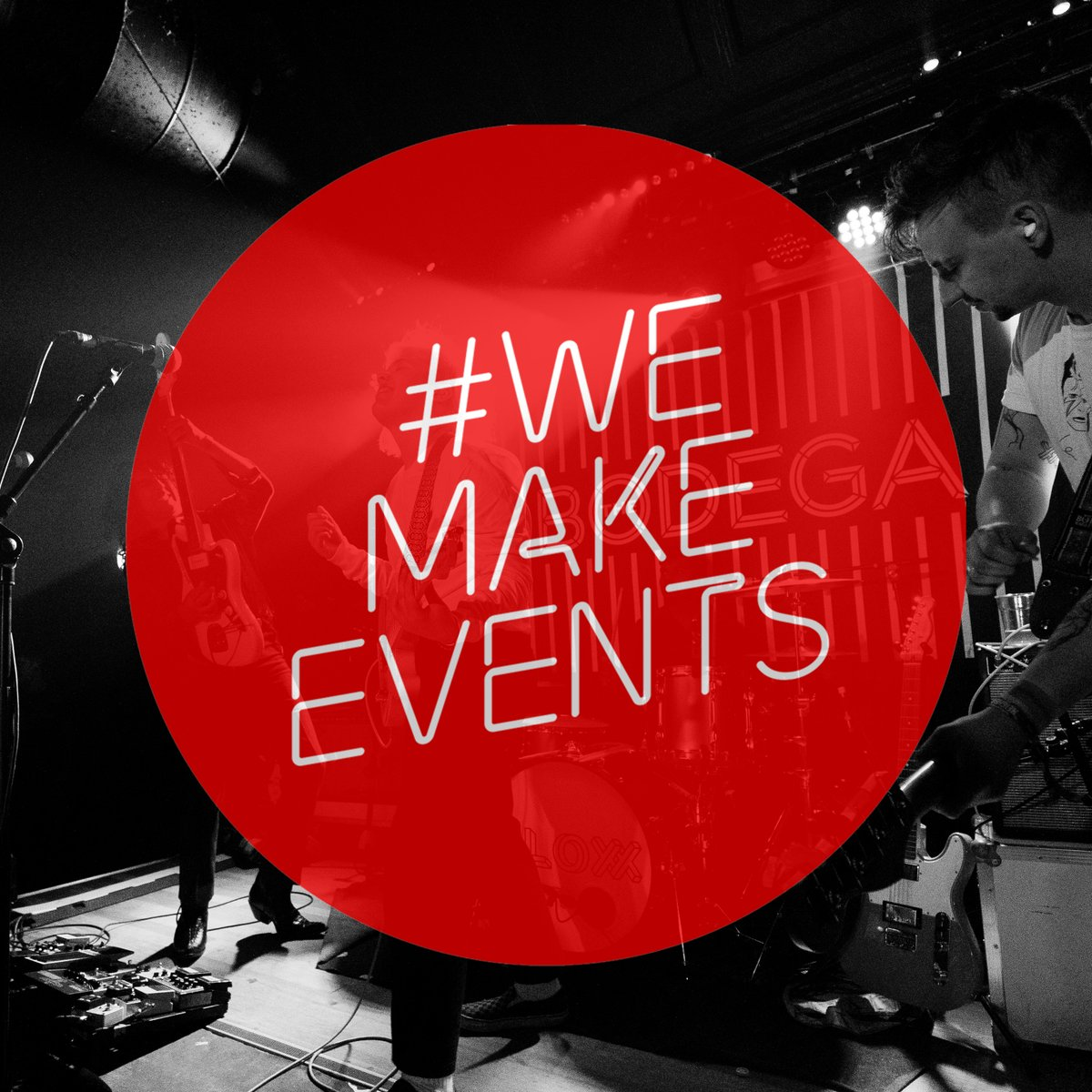 Today we stand with the industry in a day of action to call for more government support. To make one show happen, we rely on artists, tour managers, sound engineers, venue management, bar staff, ticketing teams, security and loads more.  More needs to be done. #WeMakeEvents https://t.co/SfCMJ8tWtm