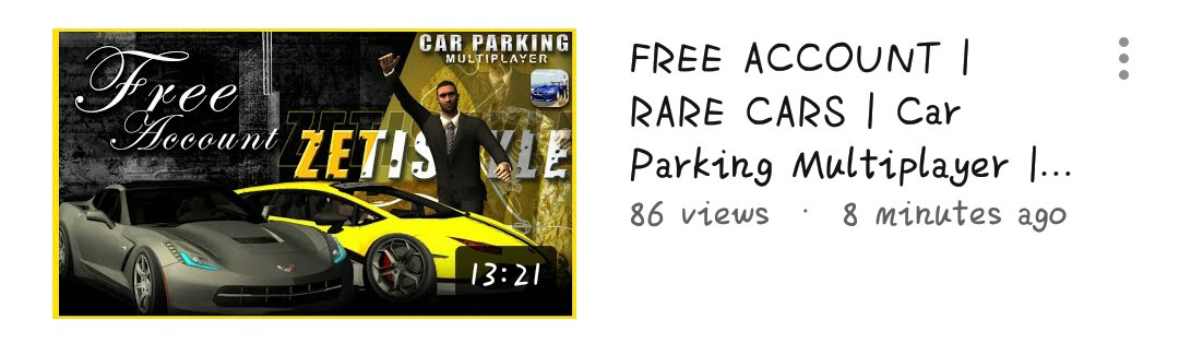 Car Parking Multiplayer 📌 | zeti • free account (8) • #CarParkingMultiplayer #CPM #Gaming #Gameplay #Game #Openhood #Livery #Widebody #LibertyWalk #Tutorial #RustyDecals #YouTuber #YoutubeGaming #zeti #FreeAccount https://t.co/xy4RPcaDEq