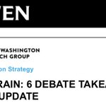 "Image for the Tweet beginning: COWEN: ""That was...something.""  (via @CowenResearch)   #Debates2020"