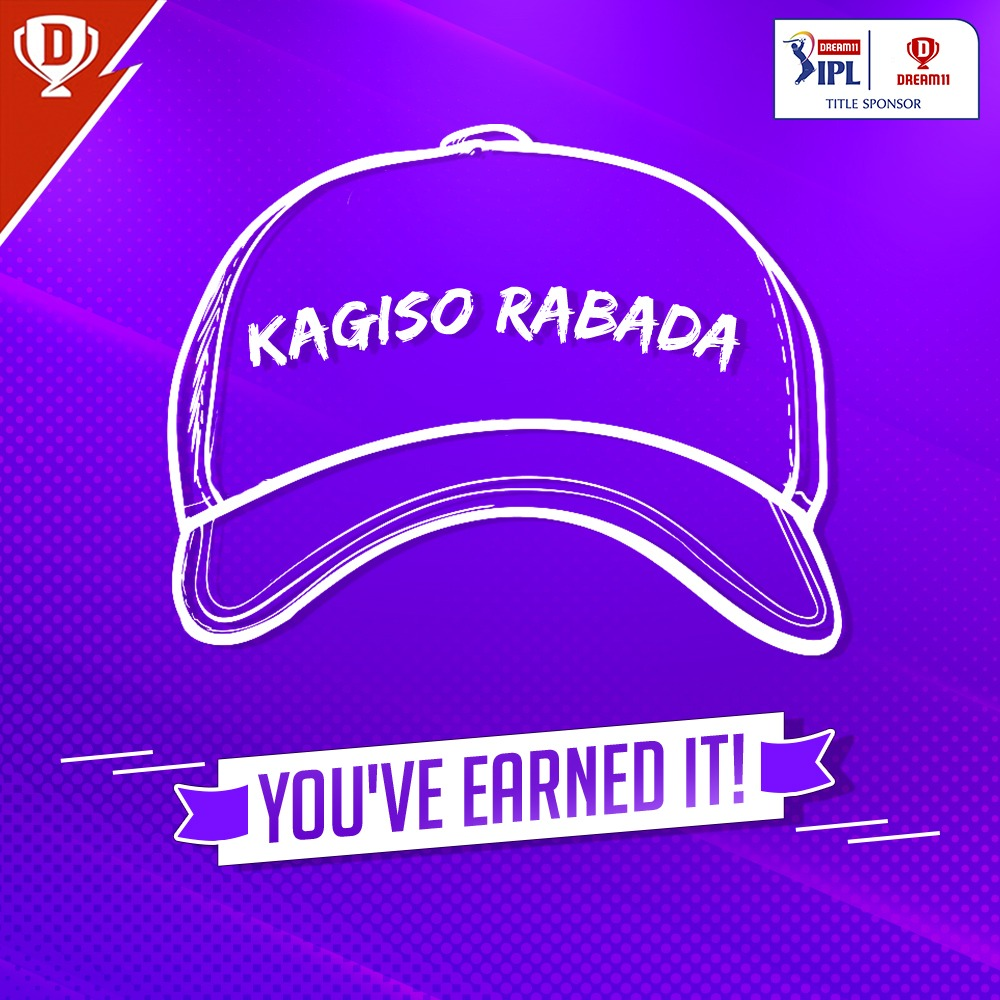 The King has been crowned 👑  With 7️⃣ scalps to his name so far, @KagisoRabada25 sits atop the leading wicket takers' charts! 😎  #Dream11IPL #YahanSabSameHai #YeApnaGameHai #DCvSRH @DelhiCapitals @IPL