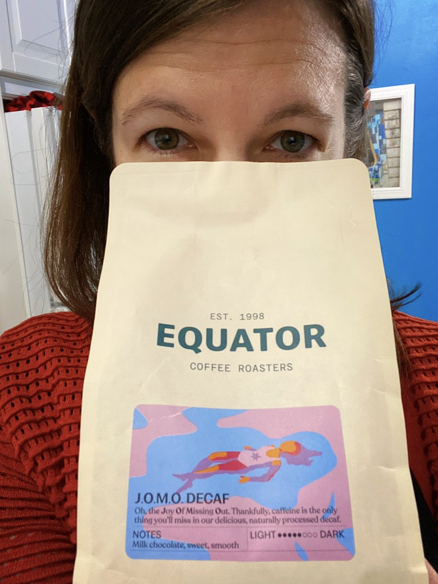 Current mood: sticking my nose straight in the bag of coffee beans level of alertness. And how is your morning going?