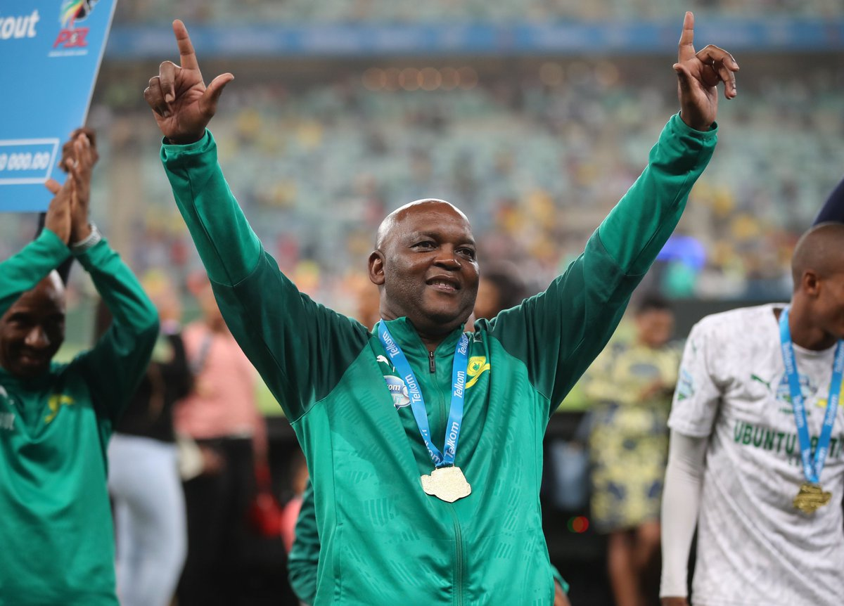 Dr Patrice Motsepe approves and supports Pitso Mosimane's departure. 📲 bit.ly/sundowns #Sundowns