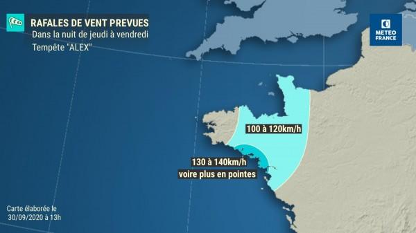 ALEX:première tempête de l'hiver devrait frapper la partie sud de la Bretagne EjKdTGoXcAA931s?format=jpg&name=small