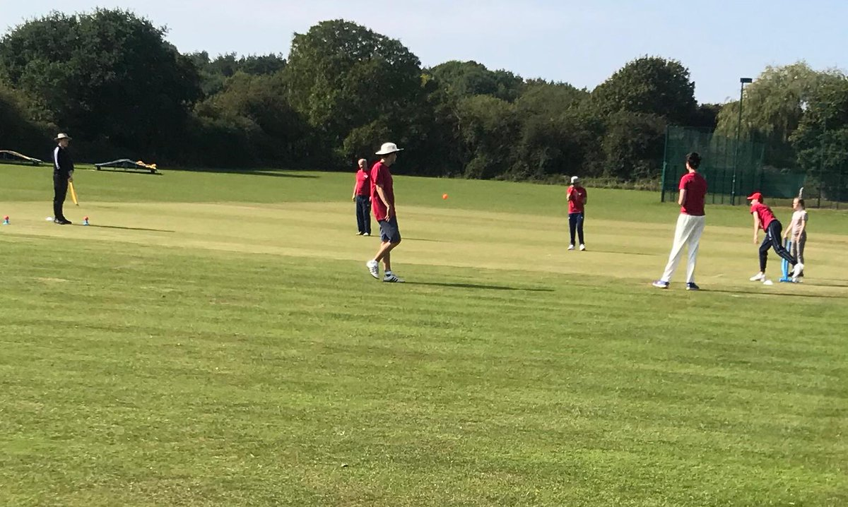 test Twitter Media - Wonderful to see our @Super1s_Glos participants from Frenchay Falcons thoroughly enjoying their cricket against Bath and Weston Super Mare from @somersetcb 🏏  A brilliant way for the hubs to end the summer 😃 https://t.co/mvEe5LI8d0