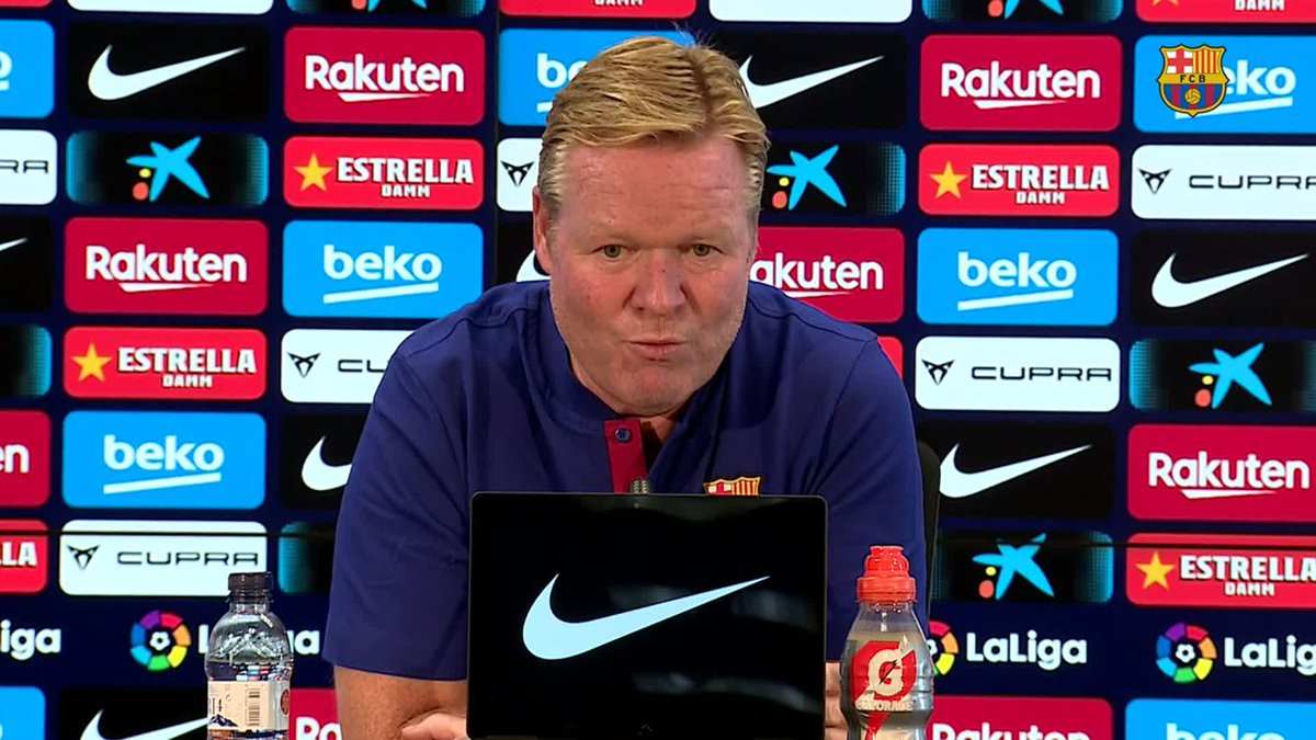 ❝In theory, I don't want to rotate players because, at the moment, we have no need to.❞         — @RonaldKoeman on #CeltaBarça https://t.co/jQtUgoR3VS