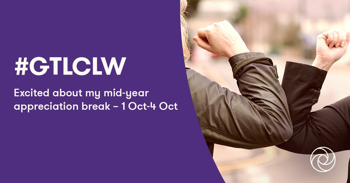 #GTLCLW : leaders @GrantThorntonIN its time to switch off & #LeadTheChange so that our teams can rest & recuperate until we return to our new #VirtualWorld once again on Monday.   Let's make this a 100% #NoTechWeekend . https://t.co/0vN0XCM5rB