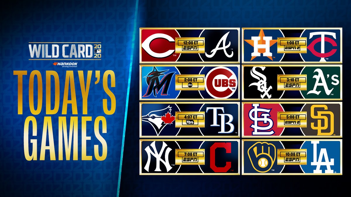 We've never had a #postseason day like this before! 🤯 https://t.co/8bIeOgyyYS
