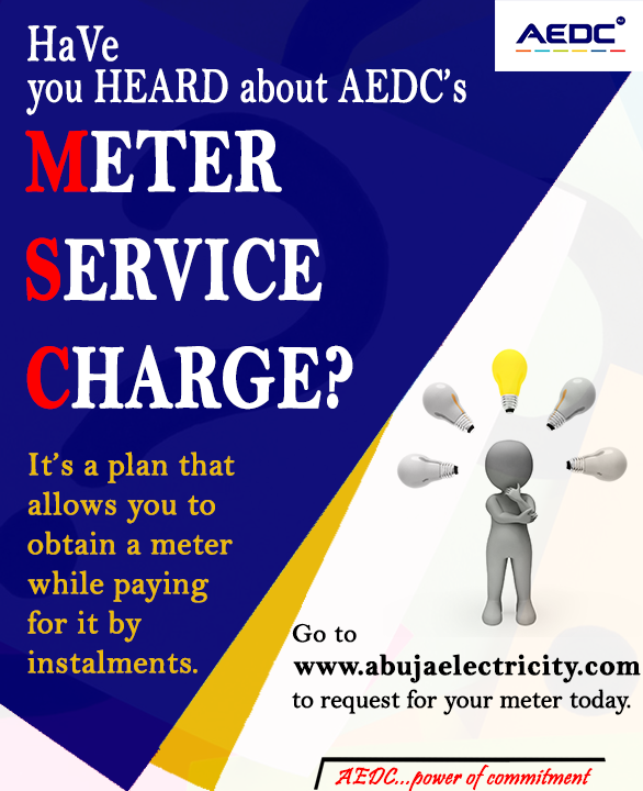 Are you tired of estimated billing and in need a prepaid meter but you are low on cash to buy one? Visit https://t.co/HJxbGcnRvl to get started. #GetMeteredToMAP #AEDCMAP #MSC #PrepaidMeter https://t.co/49AVft8HWW