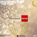 Image for the Tweet beginning: Congrats to @ACCA_UK for winning