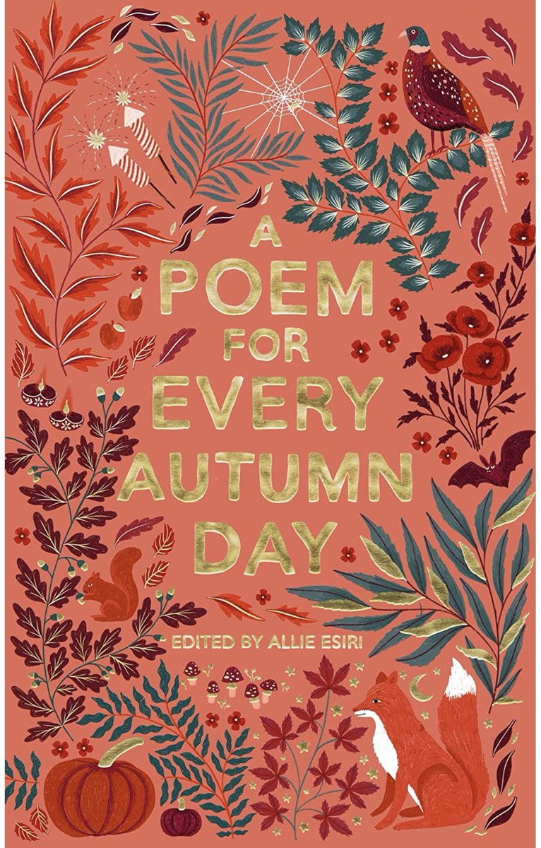 COMP ALERT!!! The third day in our competition to win a set of poetry collections by the brilliant @AllieEsiri! Just follow us & RT for a chance to win! UK only & one lucky winner will be picked at random this evening at 8pm #apoemaday #NationalPoetryDay