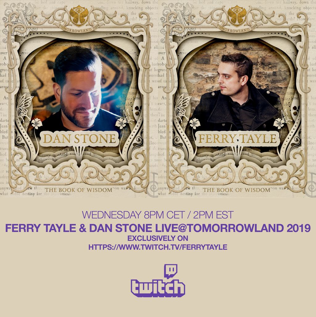 Tomorrow at 8PM CET / 2PM EST on https://t.co/EzvcArfWpU,  watch our set recorded during @tomorrowland 2019 on the @FsoeRecordings  Stage. We can't wait to be back in 2021 ! Come & say Hello, i will be on the chat https://t.co/OvtfvV37qz