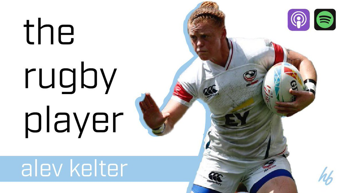 ‼️NEW EP IS LIVE‼️ @kelteralev is a key member of the @USARugby Women's Sevens program! Her resume in the sport is second to none and her pathway is so interesting! Olympics, coffee, surfing and rugby! We cover it all! Link HERE> spoti.fi/2Gcx0UT