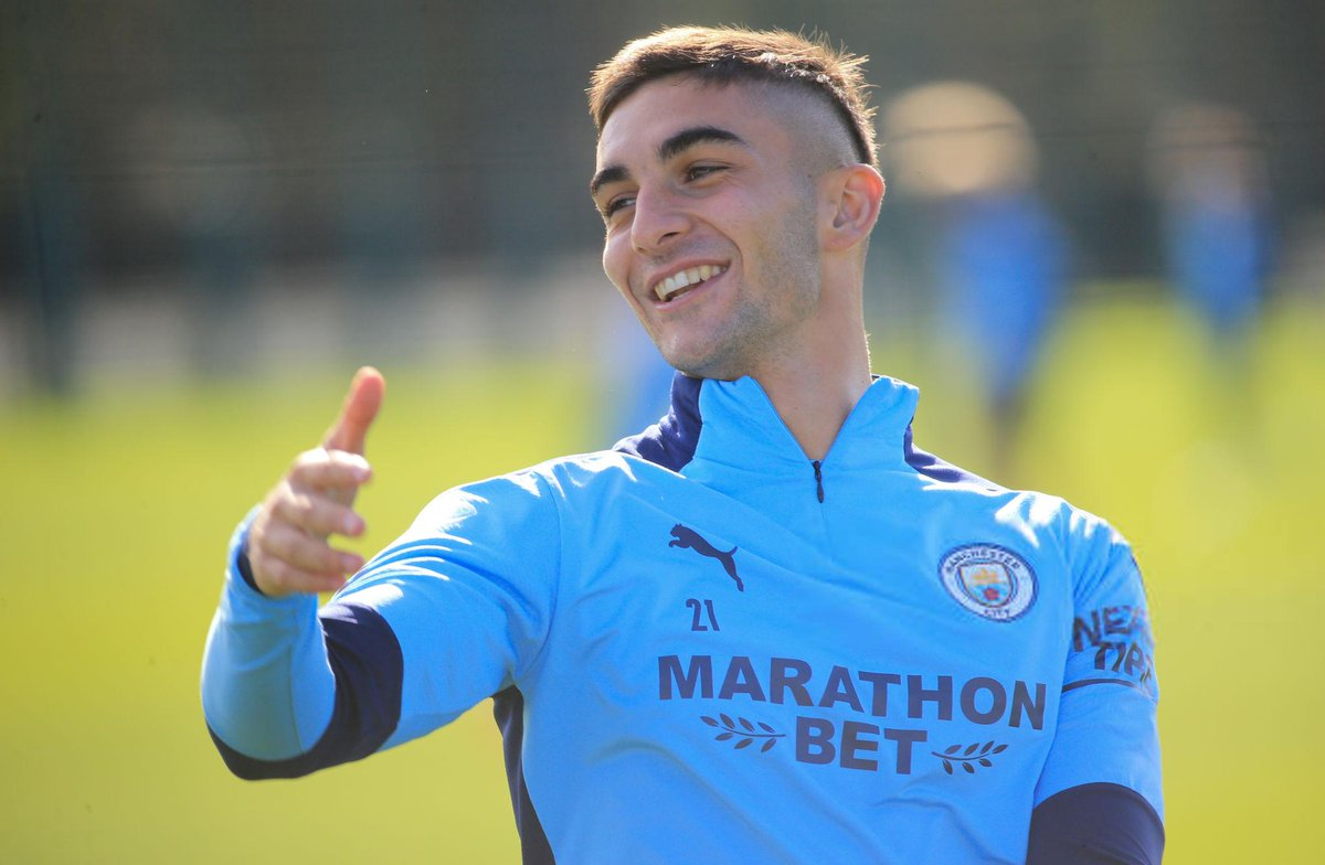 Man City Report On Twitter The First Assist Of The Season For Ferran Torres Mcfc Carabaocup Mancity