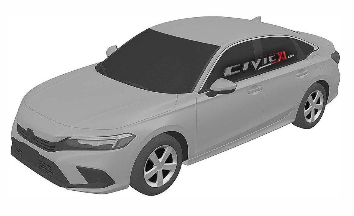 El futuro Honda Civic Sedán 2022 filtrado al completo  https://t.co/O0F62Yv7QJ  @Honda @HondaPrensa @HondaESauto #honda #Honda #hondacivic #HondaCivic https://t.co/ISTgUvgdEy