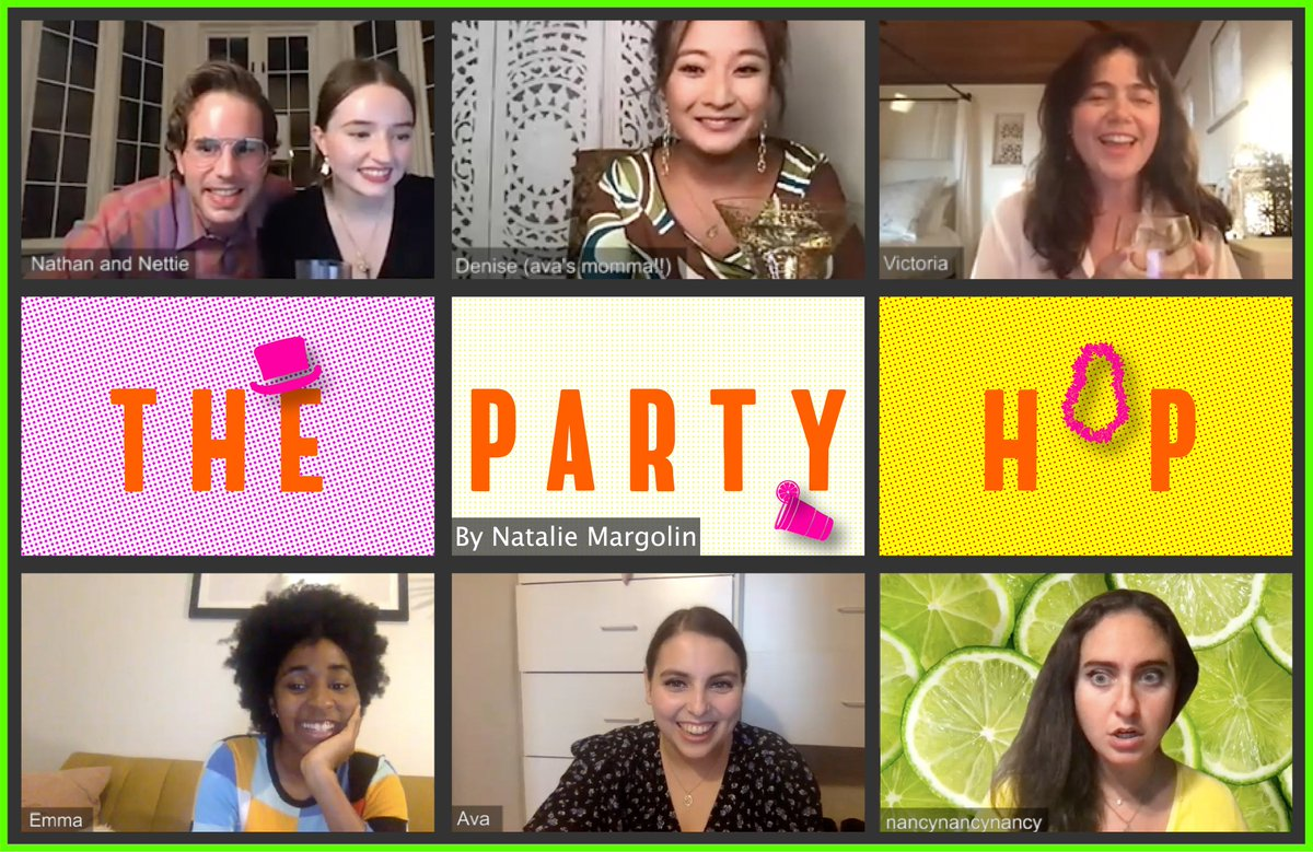 DPS invites you to a reading of @NataliePineTree's online play, THE PARTY HOP, starring @BeanieFeldstein, @BenSPLATT, @ayoedebiri, @catcohen, @Noahegalvin, @ashleyparklady & more on our @YouTube channel, #DPSOnAir 🎉 Watch starting 10/3 at 3pm EST here → bit.ly/DPSOnAirThePar…
