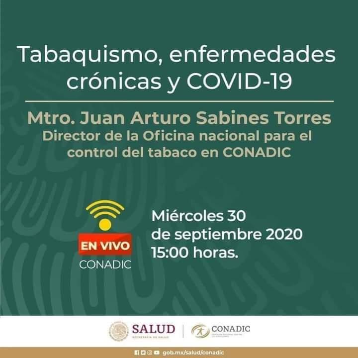 Están invitados a la platica  que impartirá el Mtro. Juan Arturo Sabines Torres